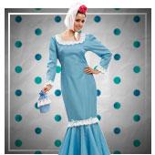 Disfraces de san Isidro para mujer