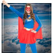 Disfraces de superheroes y comic para mujer