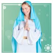 Disfraces de Virgen María para mujer