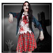 Disfraces de zombies para mujer
