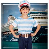 Disfraces de marineros para niño