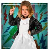 Disfraces de los años 60, 70 y 80 para niña