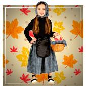 Castañera Kostüm für Mädchen