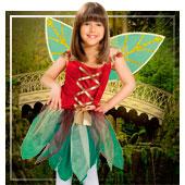 Disfraces de hadas, duendes, elfos y ninfas para niña