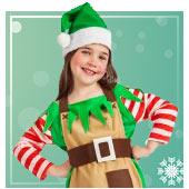 Fatos de elfo para Menina