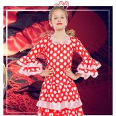 Costumi di Flamenca, Sevigliana, Toreri e Cordobese da bambi
