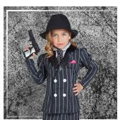 Deguisements de Gangsters et Mafia pour Fille