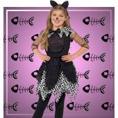 Katzen Kostüme für Mädchen