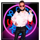 Grease Kostüme für Mädchen