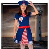 Disfraces de marinera para niña