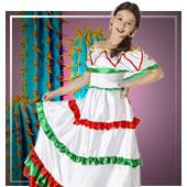 Costumi di Messicano da bambina