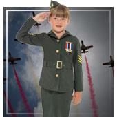 Disfraces de ejército y militares para niña