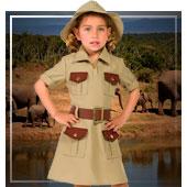 Disfraces de uniformes y oficios para niña