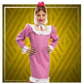 Disfraces de san Isidro para niña
