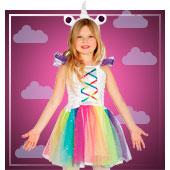 Disfraces de unicornio para niña
