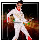 Disfraces de cantantes y famosos para niño