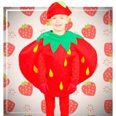 Disfraces de Frutas, Flores y Verduras para niño