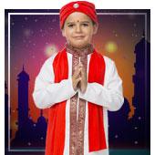 Disfraces de árabe e Hindús para niño