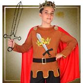 Disfraces medievales para niño