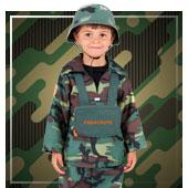 Costumi di Esercito e Militari da bambino