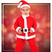 Disfraces de Papa Noel para Niño