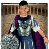 Disfraces de romano, griegos y egipcios para niño