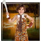 Disfraces de trogloditas y cavernicolas para niño