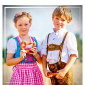Faschingskostüme für Kinder Oktoberfest