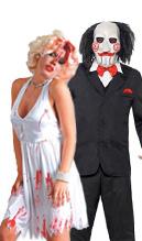 disfraz de películas, tv y cine de terror para adultos