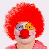 Perruques de Clowns et Arlequins