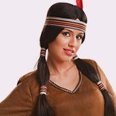Perruques de Cowboys et Indiens