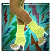 Accesorios de piernas de Años 60, 70 y 80