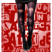 Accesorios piernas de rock y punk