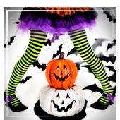 Accessoires Beine für Halloween