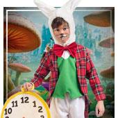 Costumi da Coniglio Wonderland