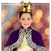 Disfraces de Reyes Magos para niño