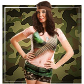 T-shirts déguisements pour femmes