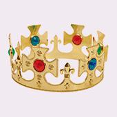 Accessoires tête de Princesses, Rois et Princes