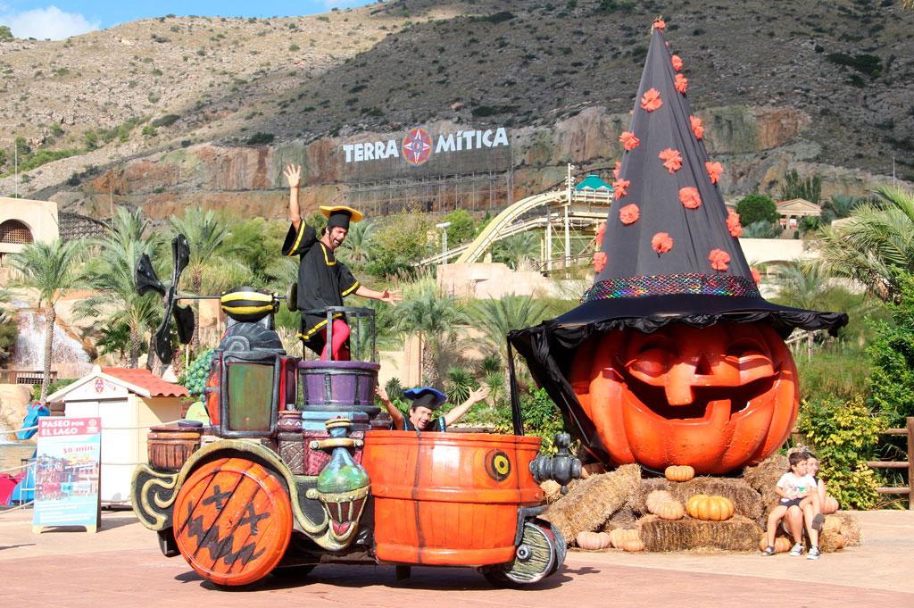 Halloween terra mitica