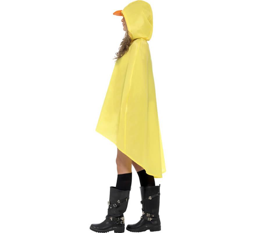Descubrir la mejor moda sin impuesto de venta Chubasquero Party Poncho Pato para adulto