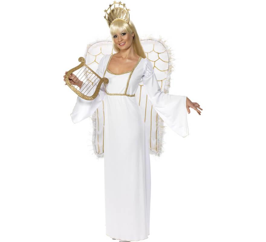 76cb0c776ba62 Déguisement Ange Blanc de Noël pour Femme