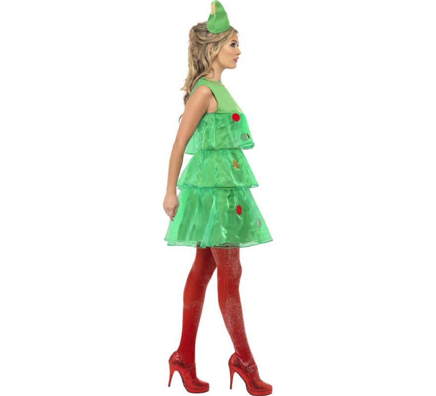 Disfraz de rbol de navidad con tut de mujer - Disfraz para navidad ...