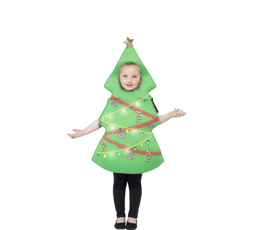 Disfraz de rbol de navidad para ni os - Disfraces infantiles navidad ...