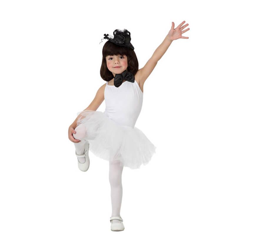 disfraz de bailarina blanco para ni a