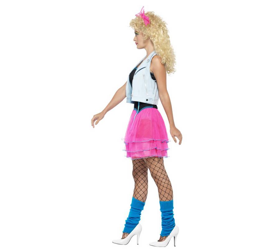 Disfraz de Chica de los Años 80 para mujer-0