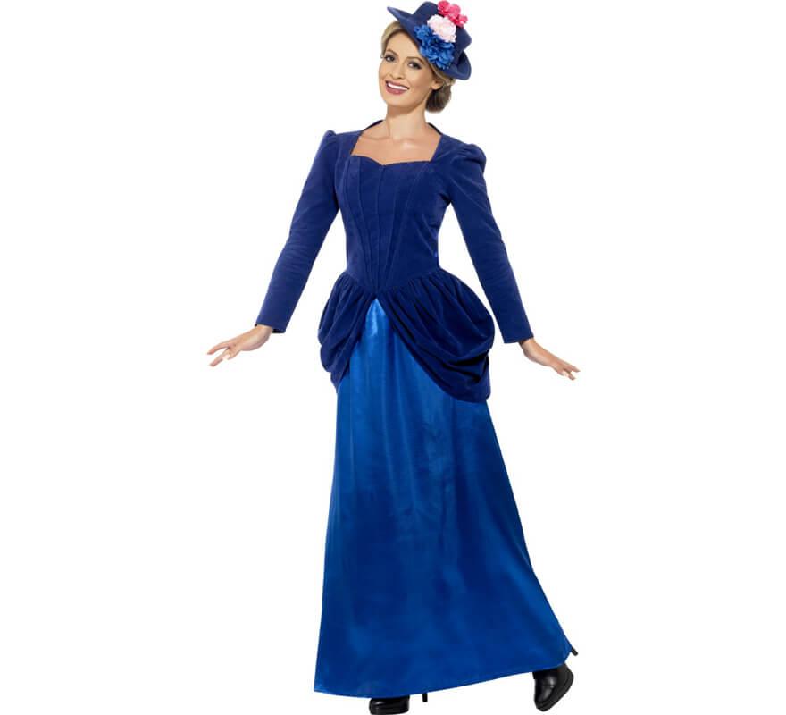disfraz mujer victoriana