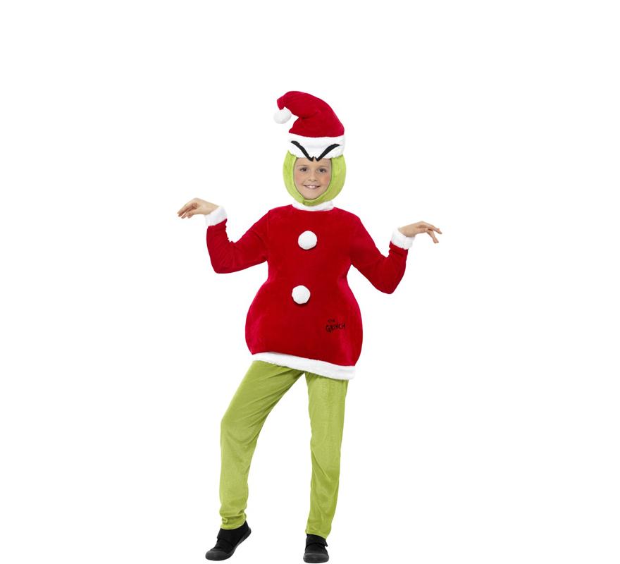 Disfraz de el grinch verde navide o para ni os - Disfraces navidenos para bebes ...
