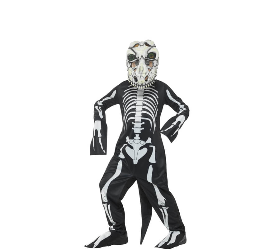 Disfraz de Esqueleto Dinosaurio para niños