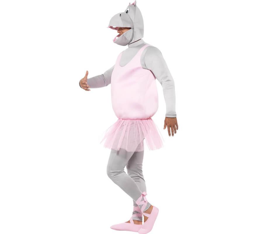 Disfraz de Hipoptamo bailarina para adulto