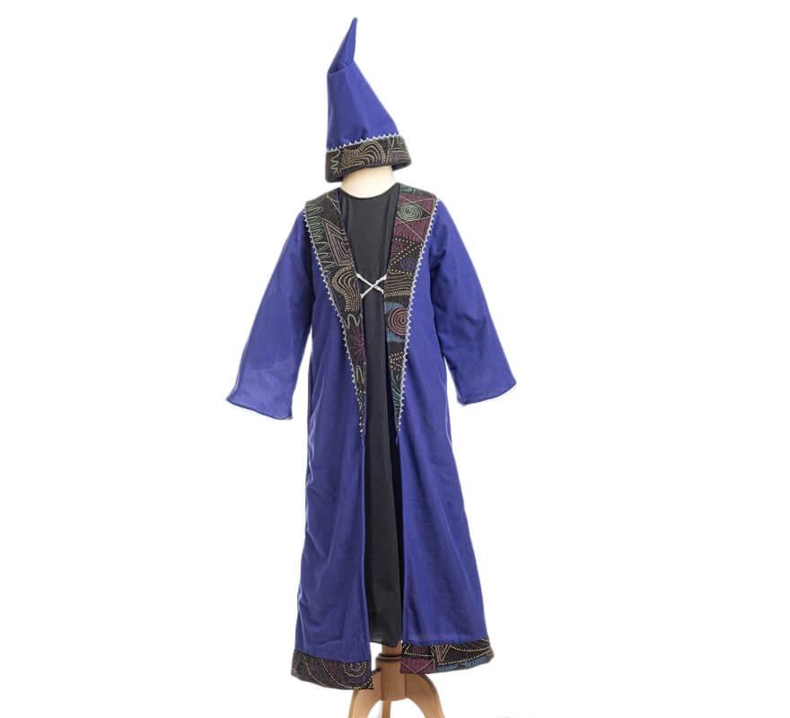 95226abbb Disfraz de Mago Merlín para niño